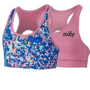 Nike girls reversible sports bra size XL